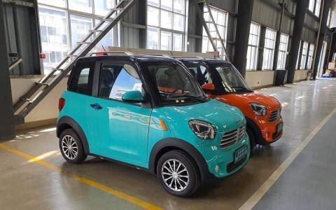 dòng xe ô tô điện mini DT moto Thái Lan